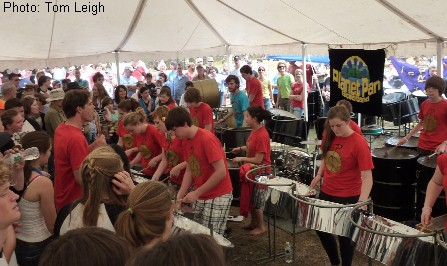 Planet Pan Performs on Sugarloaf Mountain